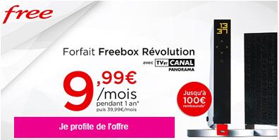 Freebox révolution en vente privée