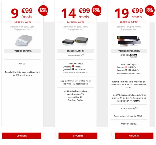 3 promotions freebox