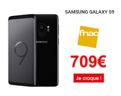 Samsung Galaxy S9 French Days Fnac