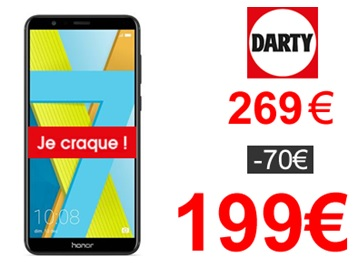 Le Honor 7X Darty