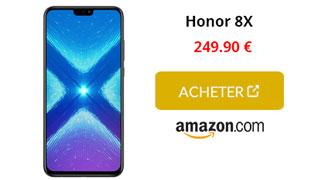 Honor 8X cta amazon