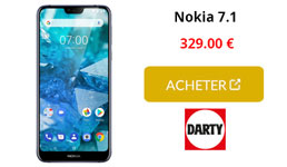 nokia 7.1 darty