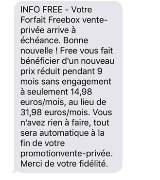 SMS-client-freebox-venteprivee