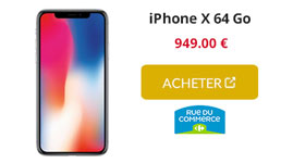 iphone x rdc
