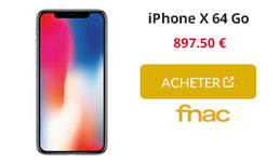 iphone x fnac