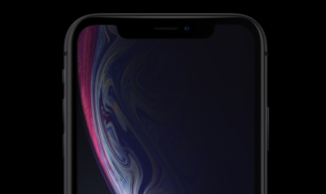 iphone-xr-black-face-avant