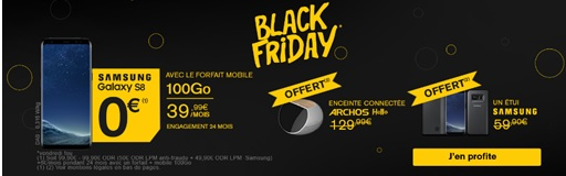 Black Friday La Poste Mobile