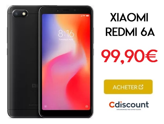 xiaomi-redmi-6A-promo-cdiscount
