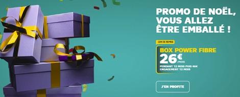 boxpower-promo-sfr></center> <p>Les abonnements BOX SFR sont soumis à un engagement de 12 mois avec des frais de mise en service et de résiliation de 49€ chacun. Et dans le cadre d