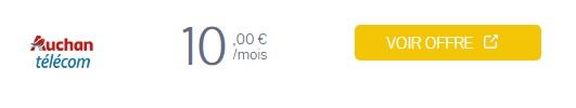 forfait auchan 50Go à 10 euros