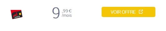 forfait nrj mobile 100Go à 10€