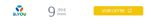 forfait bandyou 40 go à 9,99 euros en promo