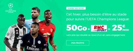 Série limitée 50Go RMC Sports RED By SFR
