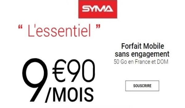 la promo syma mobile