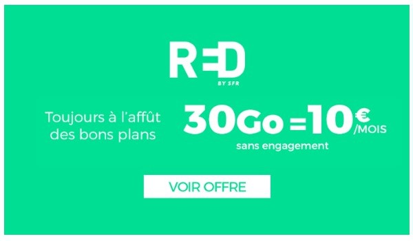 le forfait RED 40Go