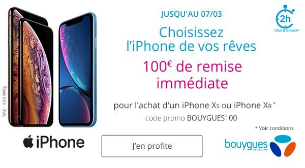 iPhone pas cher Bouygues Telecom
