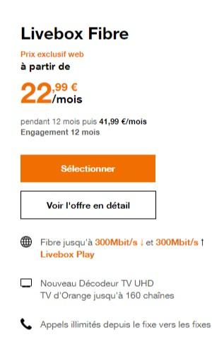 d68e33baafc Internet pas cher   Les 4 meilleures offres Fibre chez Orange