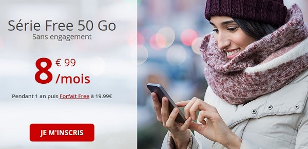 Forfait mobile 50Go