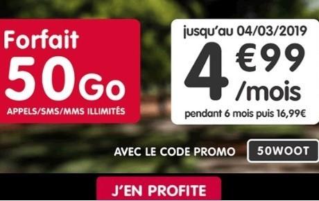 le forfait NRJ Mobile a 5 euros