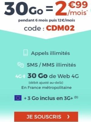 cdiscount mobile 30go