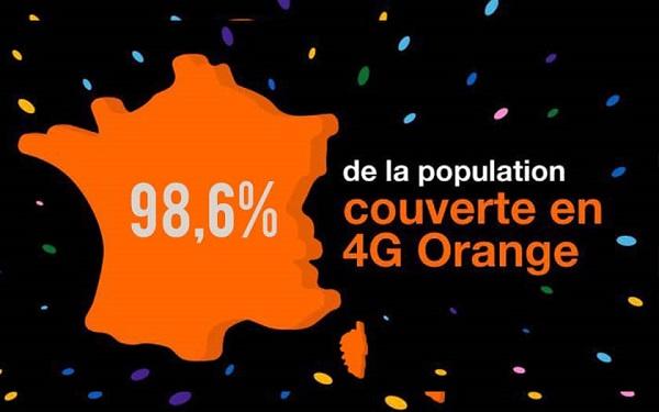 Orange couvre 98.6% de la population française