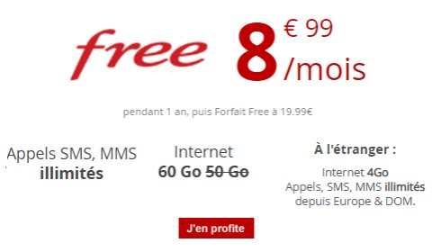 serie free mobile 50go