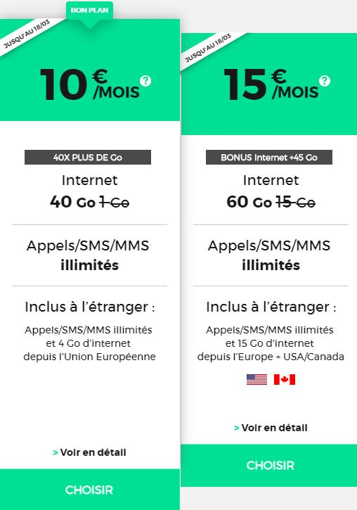 Séries mobile RED by SFR