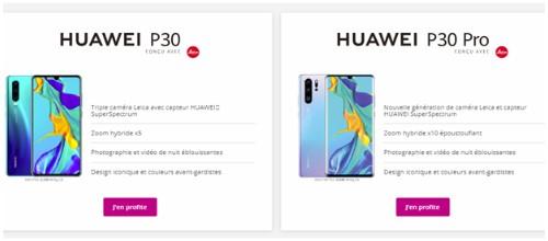 huawei-p30-p30probouygues-telecom-prix