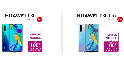 Huawei P30 en promo chez Bouygues Telecom