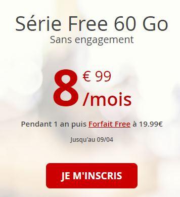 Série Free 60Go