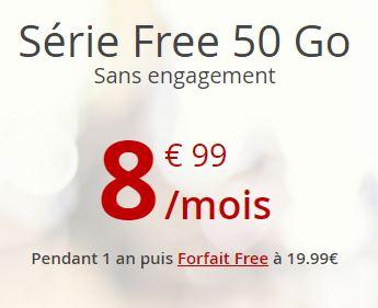 Série Free 50Go