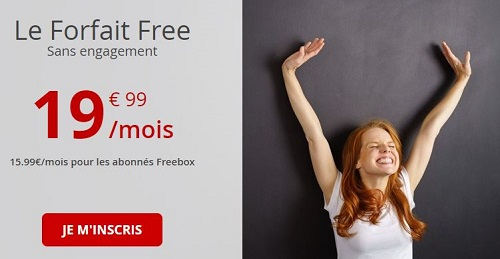 Forfait Free Mobile 100Go