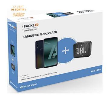 Pack Boulanger Samsung Galaxy A50 et enceinte