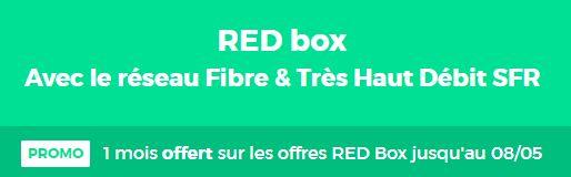 RED by SFR 1 mois offert