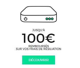 Remboursement de 100€ chez RED by SFR