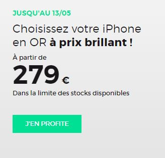 iPhone pas cher RED by SFR