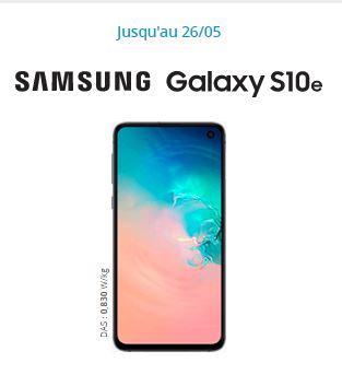 Samsung Galaxy S10 pas cher