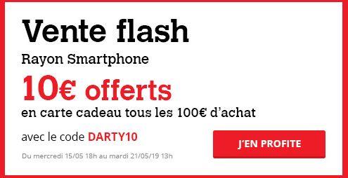 Vente Flash Darty