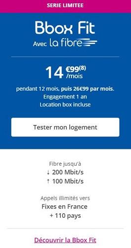 BBOX Fit Bouygues Telecom