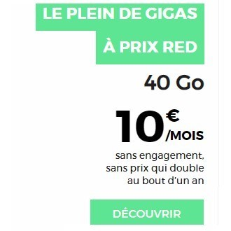 forfait-red40go