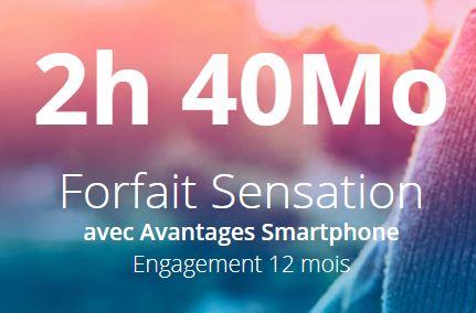 Forfait Bouygues Telecom 2h