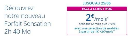 Forfait 2 euros Bouygues Telecom