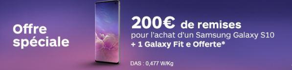 Remise Boulanger Samsung Galaxy S10