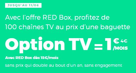 BOX RED BY SFR pas chère