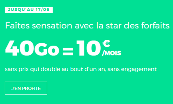 Forfait-mobile-RED-40-Go