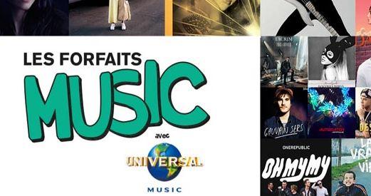 Universal Music pas cher