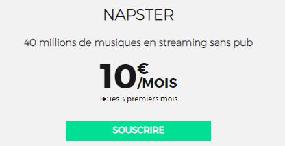 Napster RED by SFR
