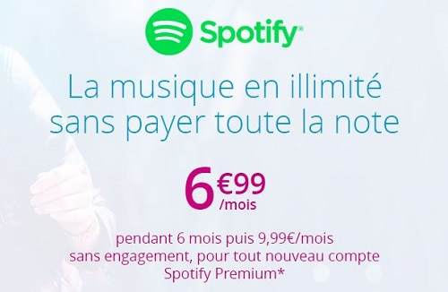 Spotify pas cher avec Bouygues Telecom