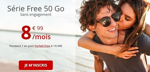 Série Free 50Go en promo