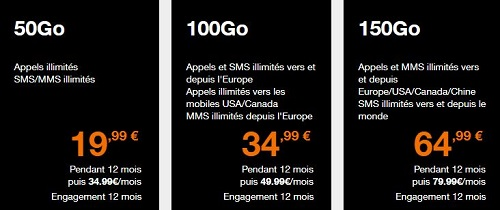 Forfaits mobiles Orange en promo